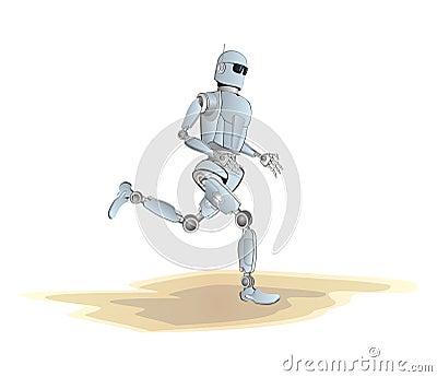Robot jogging
