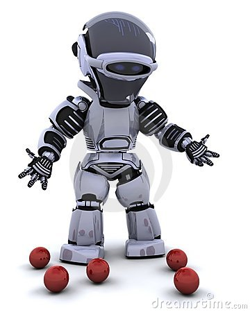Robot juggler