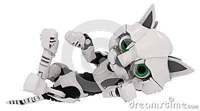 Robot Kitten, On Back