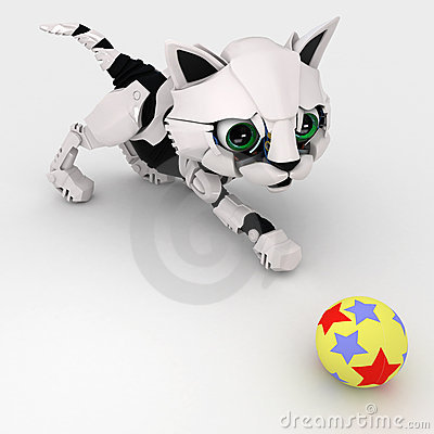 Robot Kitten, Ball