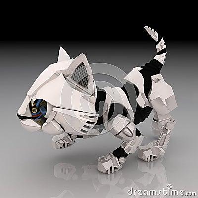 Robot Kitten, Crouching