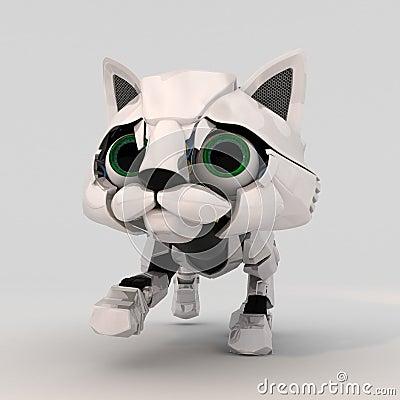 Robot Kitten, Front