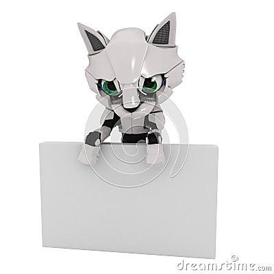 Robot Kitten, Sign