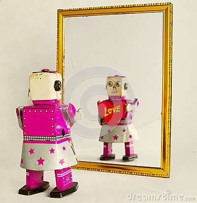 Free Robot Love Royalty Free Stock Photography - 59066357