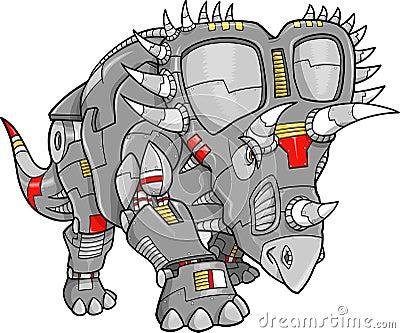 Robot Machine Triceratops Dinosaur