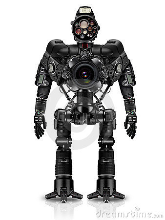 Robot of photocameras
