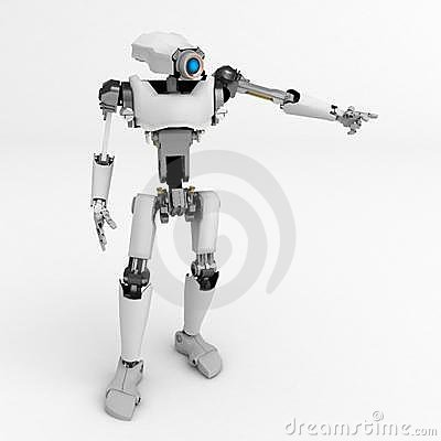 Robot, Pointing