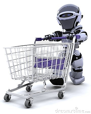 Robot shopping