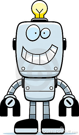 Robot Smiling