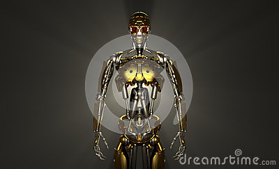 Robot Soldier Stock Images - Image: 26899224