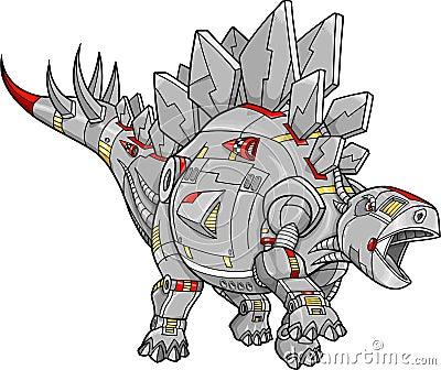 Robot Stegosaurus Dinosaur