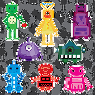 Robot Toy Set_eps