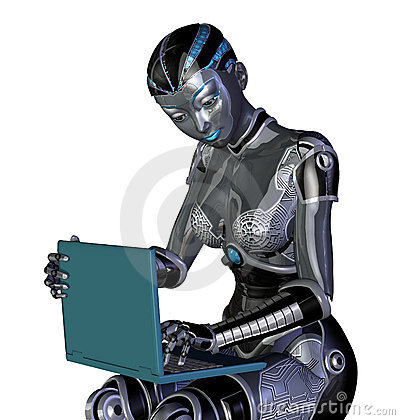 Robot Using a Laptop Computer