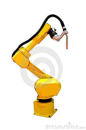 Free Robot Welder Royalty Free Stock Images - 7292889