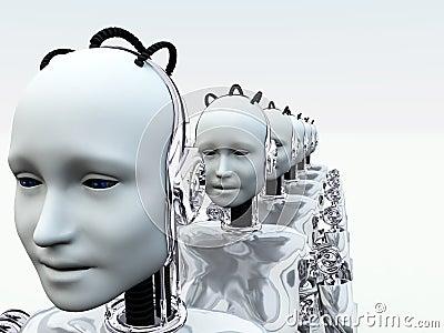Robot Women 3