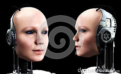 Robot Women 4