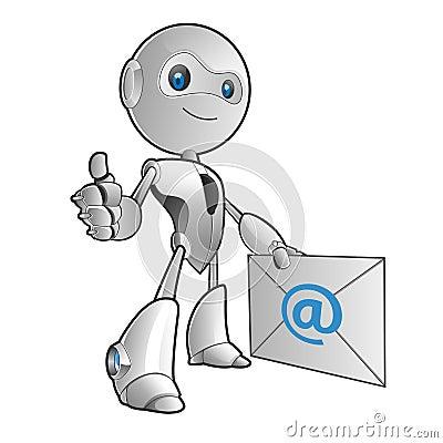 Roboter-E-Mail