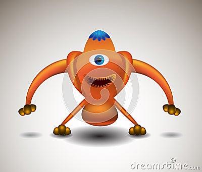 Robotic Alien Monster