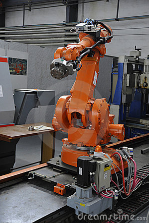 Free Robotic Arm Royalty Free Stock Photo - 11787125