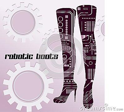 Robotic boots