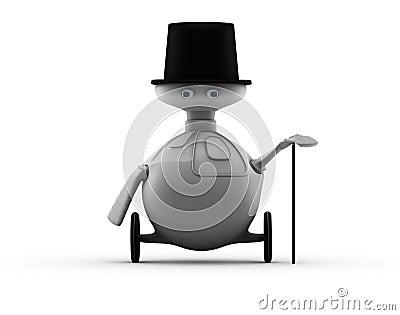 Robotic gentleman