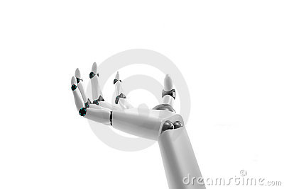 Robotic hand take something