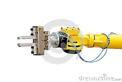 Robotic head detail