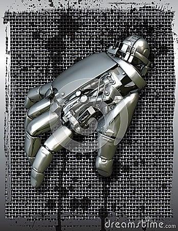 Robotic mechanical hand