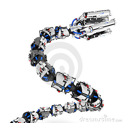 Robotic Tentacle Arm, Rising