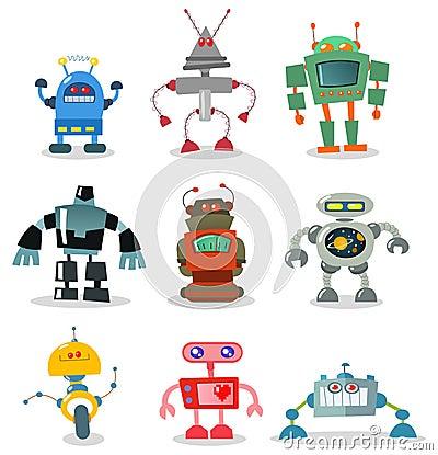 Free Robots Stock Image - 16666971
