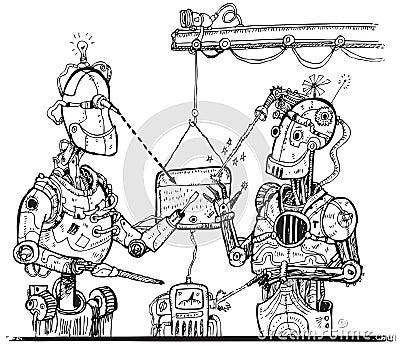 Robots (vector)