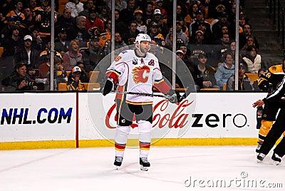 Robyn Regehr Calgary Flames Editorial Photo
