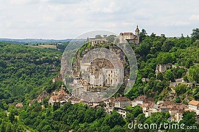 Rocamadour medieval pilgrim town