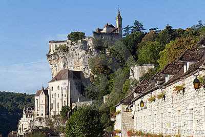 Rocamadour, a medieval village