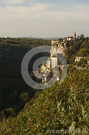 Rocamadour from north