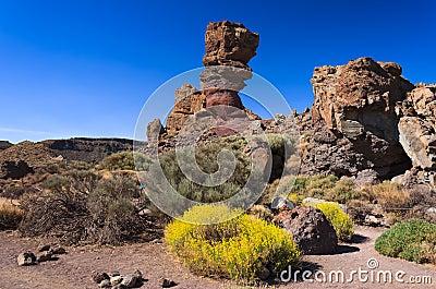 Rocas famosas de roques de garc a tenerife foto de for Las rocas tenerife
