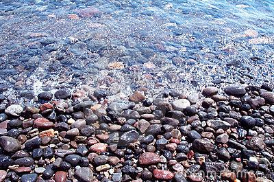 Rocas mojadas