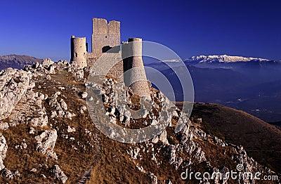 Rocca Calascio, L Aquila, Italy
