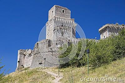 Rocca Maggiore. Assisi. Umbria.