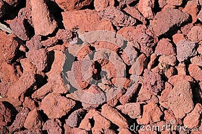 Rochas da lava
