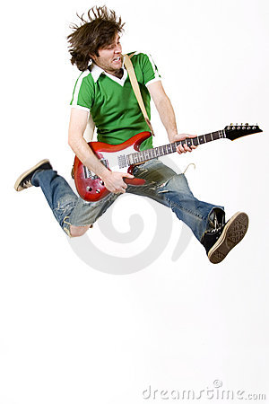 Free Rock And Roll, Baby! Stock Photo - 8431430