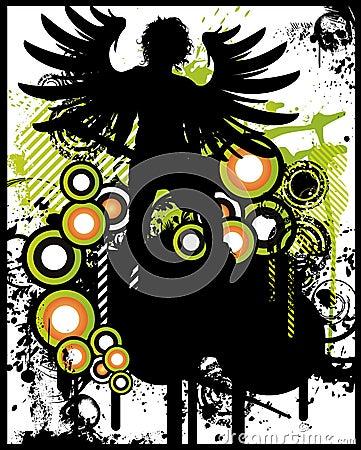 Rock Angel Poster