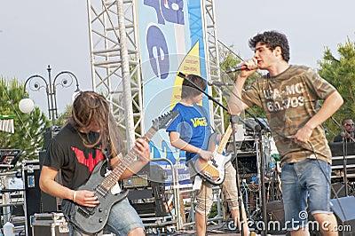 Rock Band Editorial Image