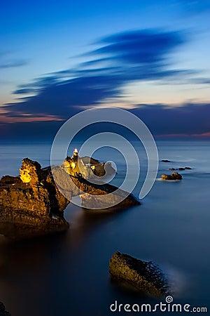 Rock from Biarritz