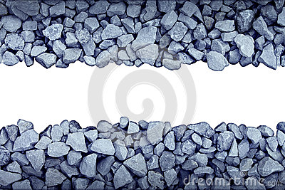 Rock Border Design Element