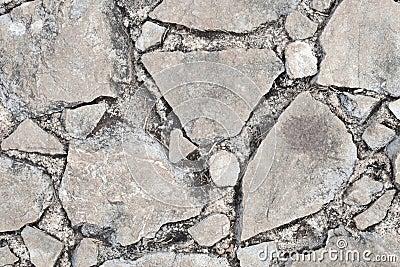 Rock broken texture