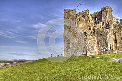 The Rock of Cashel  castle in Ireland.
