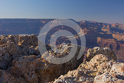 Rock Cliff at Grand Canyon