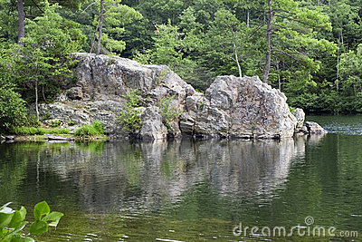 Rock Cliff Lake