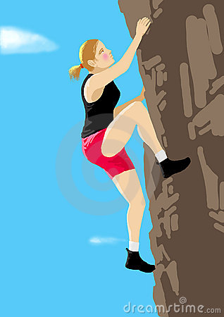 Rock climb sport
